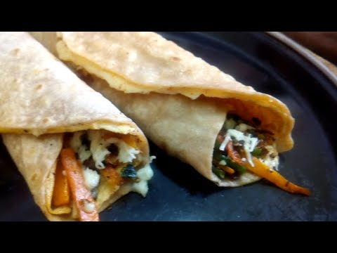 Chapati Egg Roll Recipe in Tamil l Chapathi Egg Roll recipe l Lunch Box Recipe l Chapati recipe