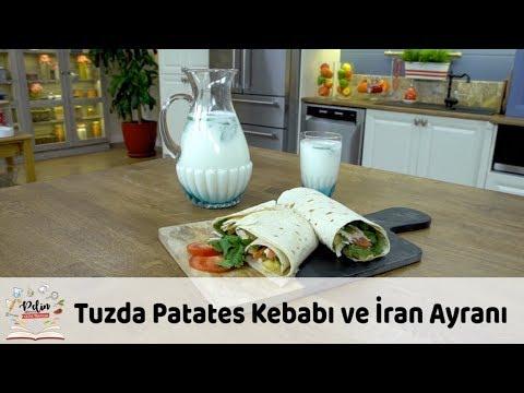 Tuzda Patates Kebabı ve İran Ayranı Tarifi