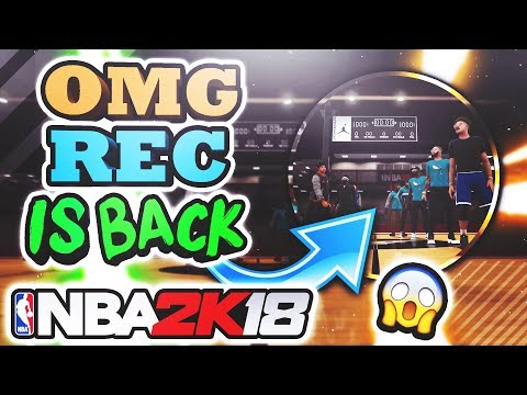 JORDAN REC CENTER IN NBA 2K18??