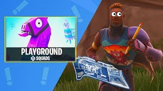 Playing the *NEW* Playground LTM Mode in FORTNITE! (Playground Mode Gameplay)