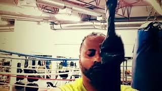 Sunny Singh Boxing training