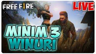 Minim 3 WINURI | FREE FIRE [LIVE#77]