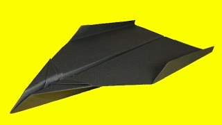 How To Make The Best Flying Paper Airplane (tutorial)