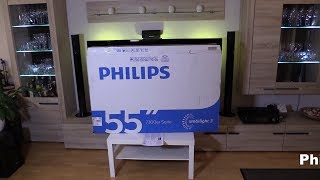 Philips 55PUS7303 smart TV 55 Zoll, Android, Ambilight, 4K, UHD, Triple Tuner,