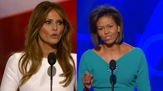Michelle Obama Finally Speaks Out About Melania Trump's Plagarized Speech