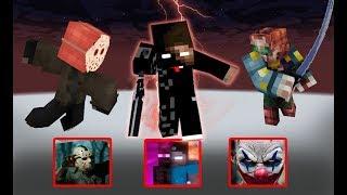 Monster School : Season 3 Jason & Clown (Enderbrine) PART 3 - Minecraft Animation
