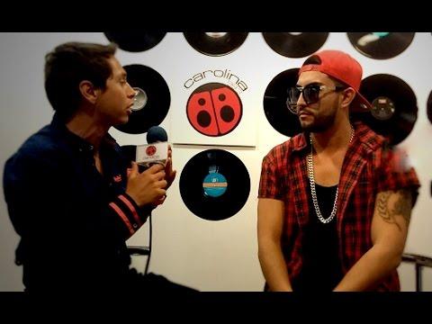 Así  El Calle Latina presentó su videoclip en Radio Carolina