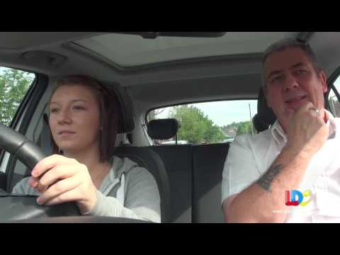 Bobby Jo's driving lesson 3 with LDC - Co-ordination