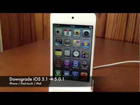 Downgrade iOS 5.1/5.1.1 vers iOS 5.0.1 (iPhone / iPod Touch / iPad) Music Videos