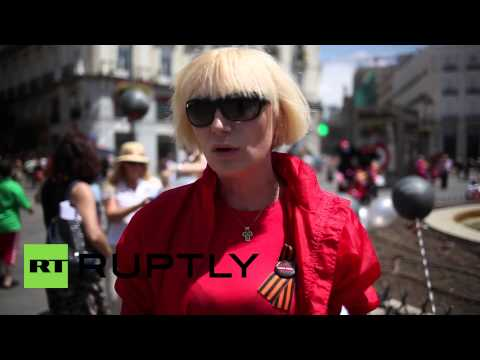 Spain: Madrid demo remembers Odessa fire dead