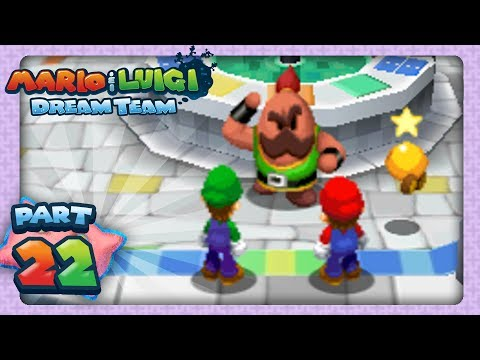 Mario & Luigi: Dream Team - Part 22 - Big Massif Hunt
