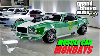 GTA 5 : MUSCLE CAR MONDAYS - OPEN LOBBIES - OLD SCHOOL RACING - PS4 - LIVE STREAM