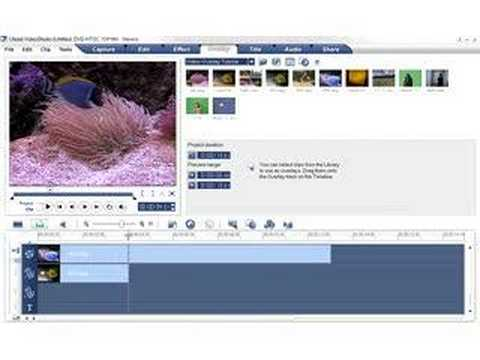 Ulead VideoStudio - Overlays Basics Tutorials