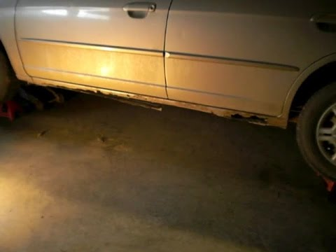 Repairing a Destroyed Rocker Panel for Under $100.