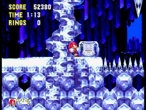 Sonic 3 Complete - Playthrough with Knuckles part 2 - User video