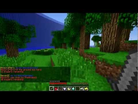Minecraft HD   ¡Nuevo server! Juegos del hambre 24 horas =D