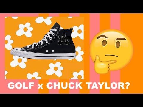 GOLF WANG X CHUCK TAYLOR? MY THOUGHTS!!🤔🧐