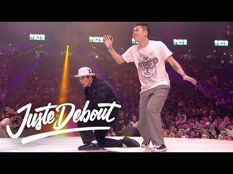Juste Debout Popping Final 2017: Hoan & Jaygee VS Ness & Poppin C