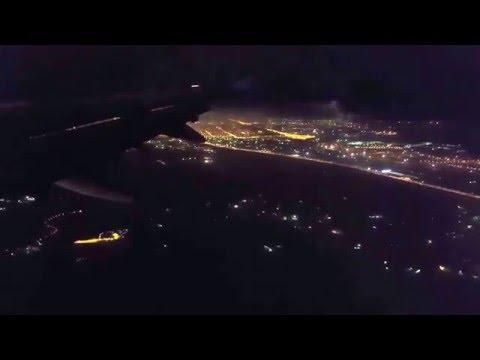 Астана ночью / Astana night / Astana en la noche