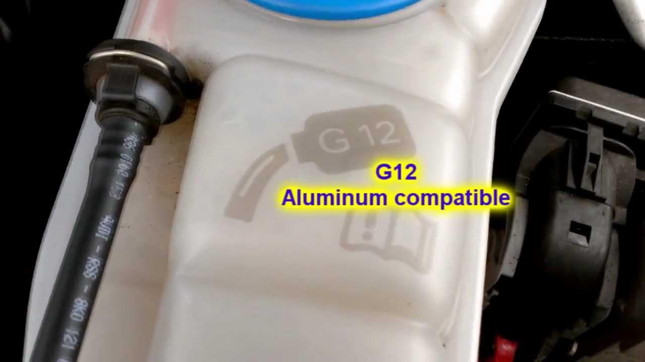 Audi G12 Aluminum Compatible Coolant Antifreeze Youtube