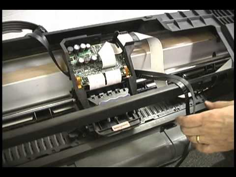 Hp Designjet 500 800 Belt Replacement Amp Calibration Youtube