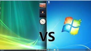 Comparing Windows 7 to Windows Vista