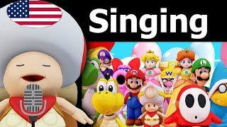 Mario Party 9 〇 All Characters Singing to The Star Spangled Banner
