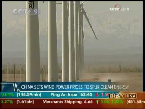China sets wind power prices to spur clean energy - CCTV 072809
