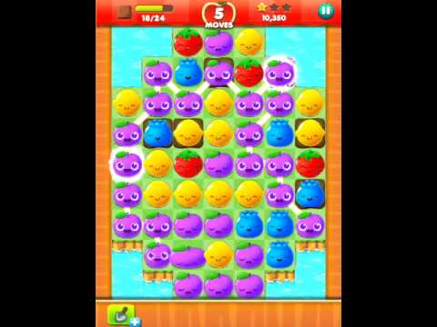 Fruit Splash Mania Gameplay Level 17 (3stars)