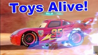 Cars 2: The video Game - Lightning McQueen - Timberline Sprint Race