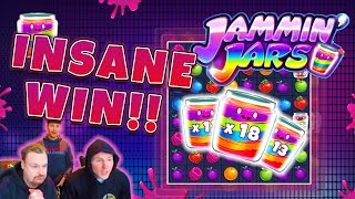 RECORD WIN!!! Jammin Jars Big win - Casino - free spins (Online Casino)