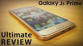 Samsung GALAXY J5 PRIME Ultimate REVIEW, Pros & Cons, Tips & Tricks! (4K)