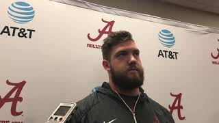 Alabama starter gets technical explaining how pass blocking works