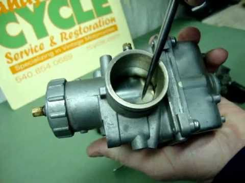 Randy's Cycle Service Explains Carburetors. Choke & Cold Starting - vintage motorcycles @ rcycle.com