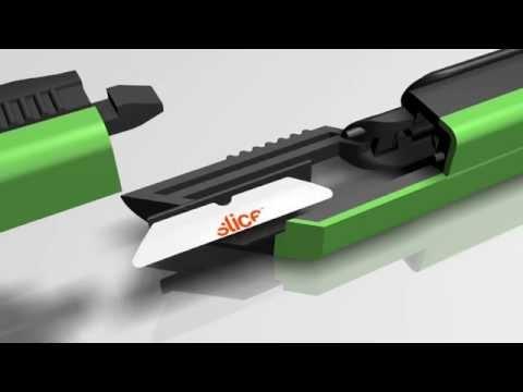 how to break a box cutter blade