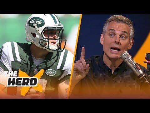 Colin Cowherd on Jets' trust in Sam Darnold, Talks Jon Gruden | NFL | THE HERD