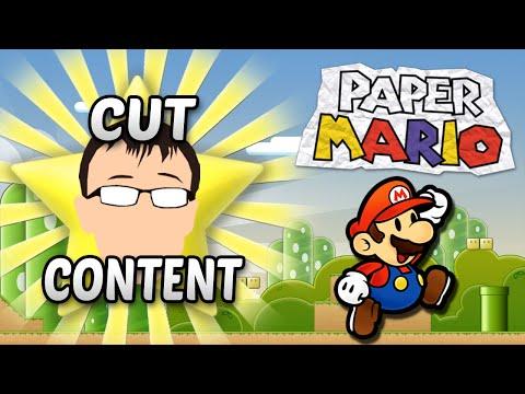 Paper Mario Cut Content - Badman