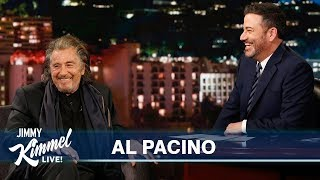 Al Pacino on New Show Hunters