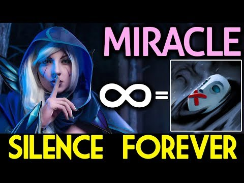 Miracle- Dota 2 [Drow Ranger] WHAT!! Silence Forever?