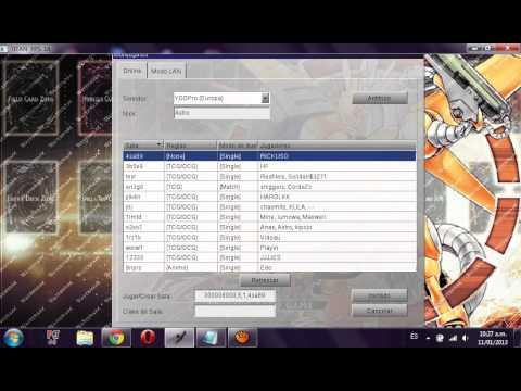 como descargar instalar y jugar yugioh pro windows xp-vista y 7 en español