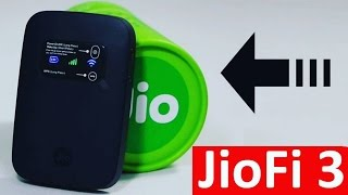 JioFi 3 : Reliance Jio 4G Pocket Router & Wireless Pendrive