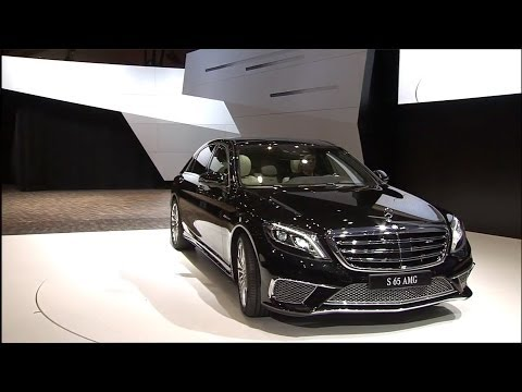 Mercedes-Benz World premiere S 65 AMG And SLS AMG GT FINAL EDITION