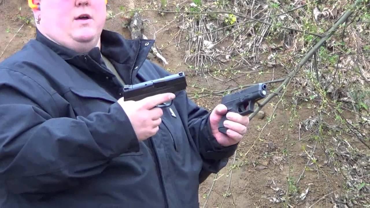 S&w M&p Shield 9mm vs Glock 26