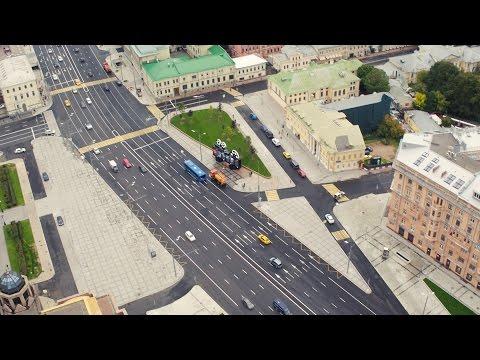 NEWSCOPTER  - Благоустройство Садового Кольца 4K