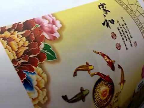 Taiwan Ink T.S. UV Curable Inks printed with Epson DX5  print head silky wall paper