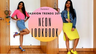 2019 Fashion Trends - Neon LookBook (embracing neon)