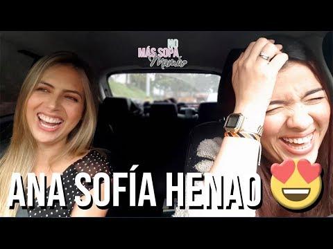 ¡Al volante con...! Ana Sofía Henao | No Más Sopa Mamá