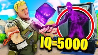 *KRANK* 5000 IQ Versteck in Fortnite 😱