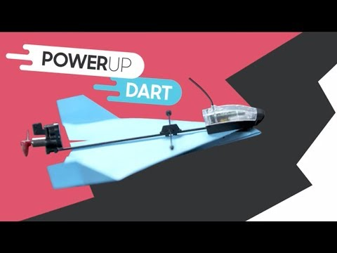 POWERUP DART Aerobatic App Controlled Paper Airplane