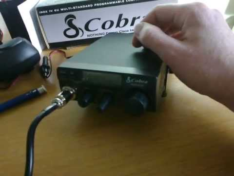 cobra 19 dx 4 is the new radio for the CB go box. part 10